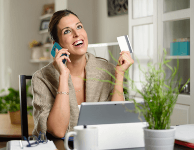 Customer self service payments with an intelligent IVR
