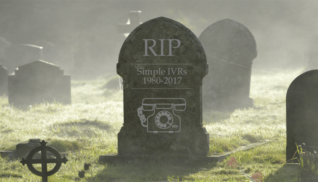 Intelligent IVR Reduces Customer Effort Making Simple IVR Obsolete